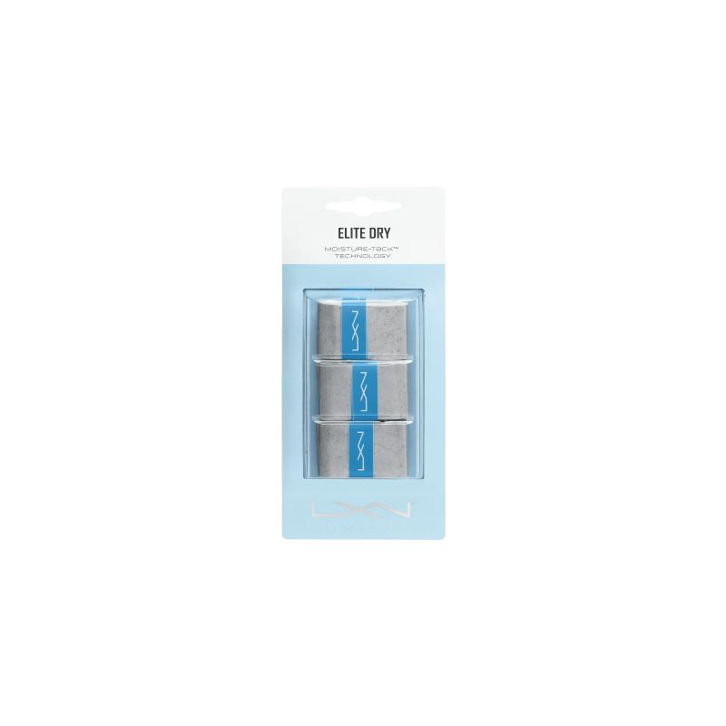 Luxilon Elite Dry (3 db) szürke fedőgrip