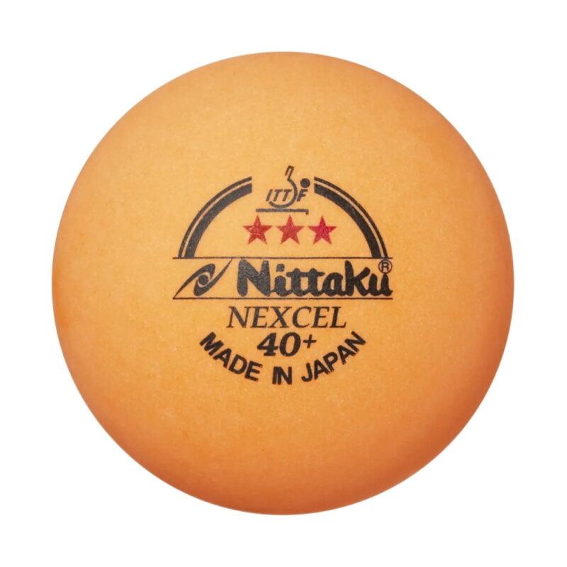 Nittaku Nexcel 3-Star 40+ pingponglabda (3 db/doboz)