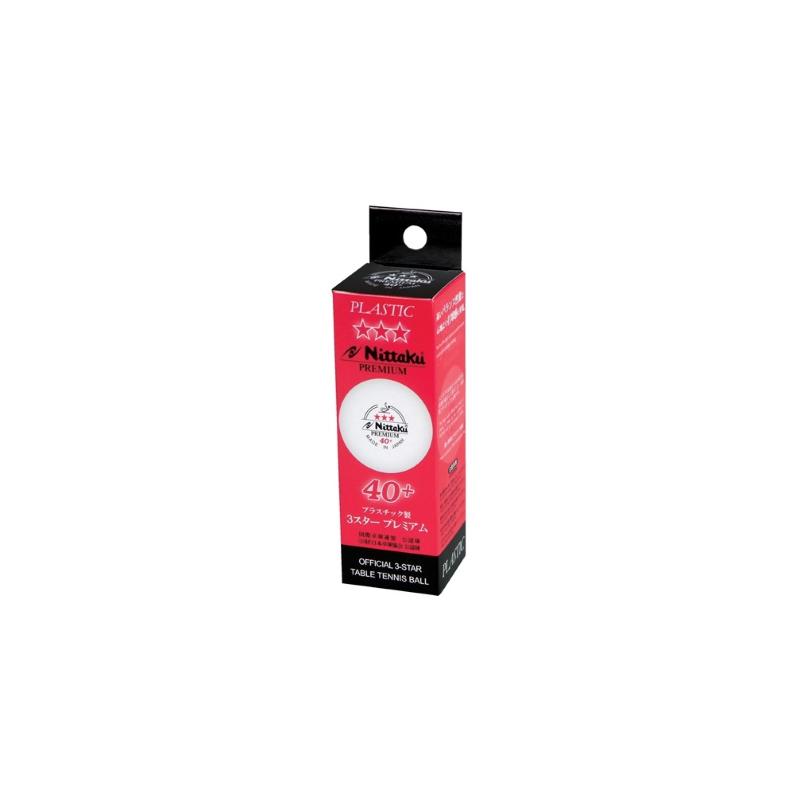 Nittaku Premium 40+ 3-Star pingponglabda (3 db/doboz)
