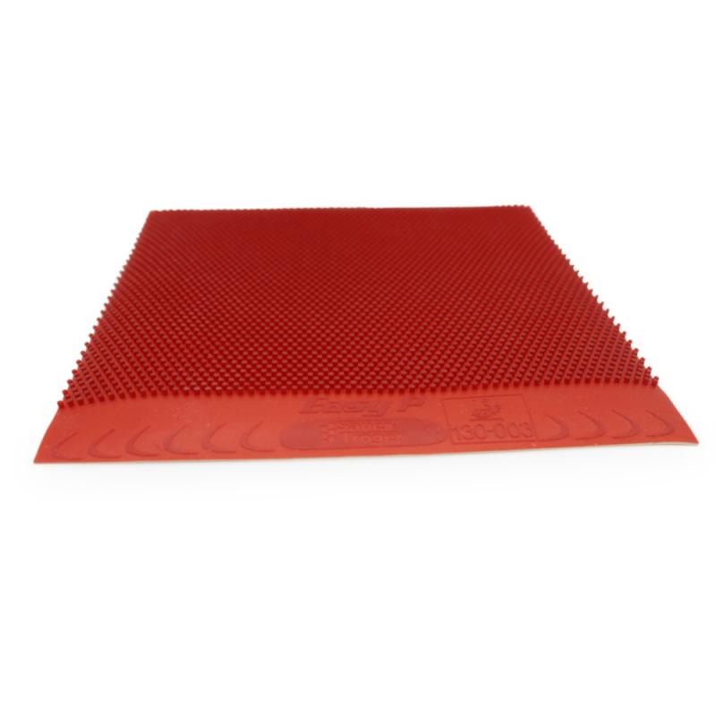Sauer & Tröger Easy P hosszúszemcsés asztalitenisz-borítás piros gumilapja (OX)