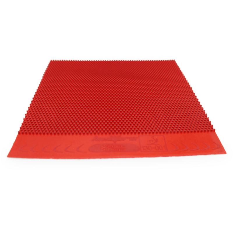 Sauer & Tröger Hellfire piros hosszúszemcsés asztalitenisz-borítás (OX)