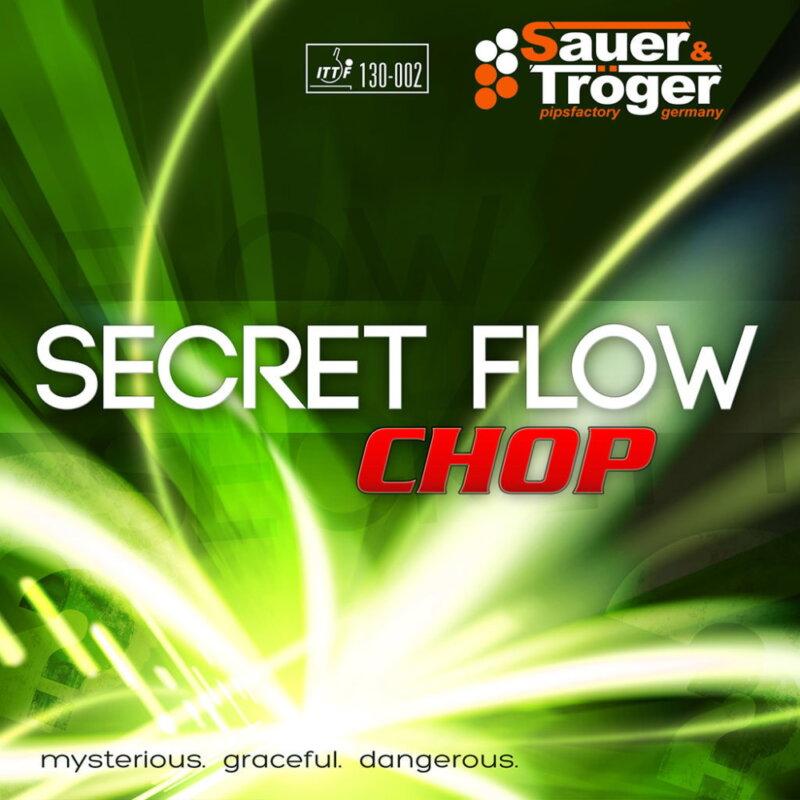 Sauer & Tröger Secret Flow Chop asztalitenisz-borítás borítója