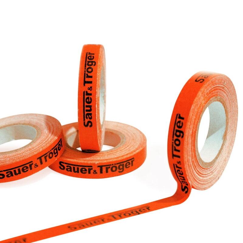 Sauer & Tröger fejvédőszalag narancsszínben (8 mm x 5 m)