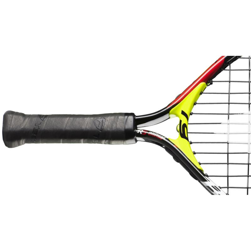 Tecnifibre Bullit 19 junior teniszütő markolata és nyaka