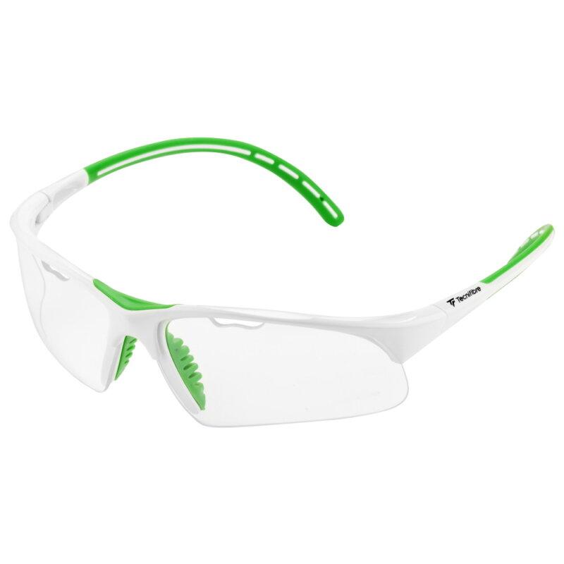 Tecnifibre Squash védőszemüveg (fehér-zöld)