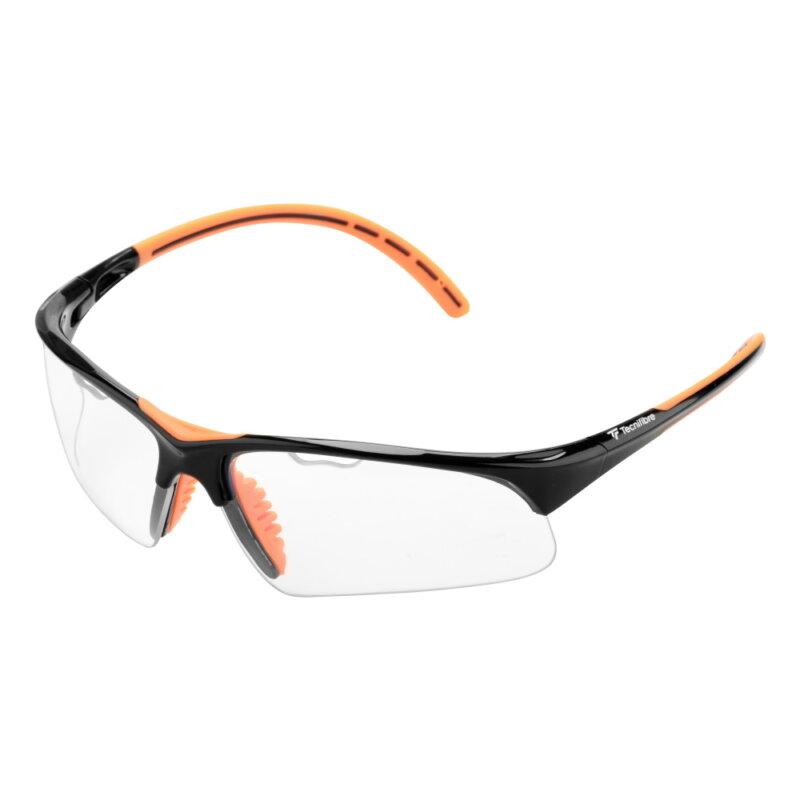 Tecnifibre Squash védőszemüveg (fekete-narancsszínű)