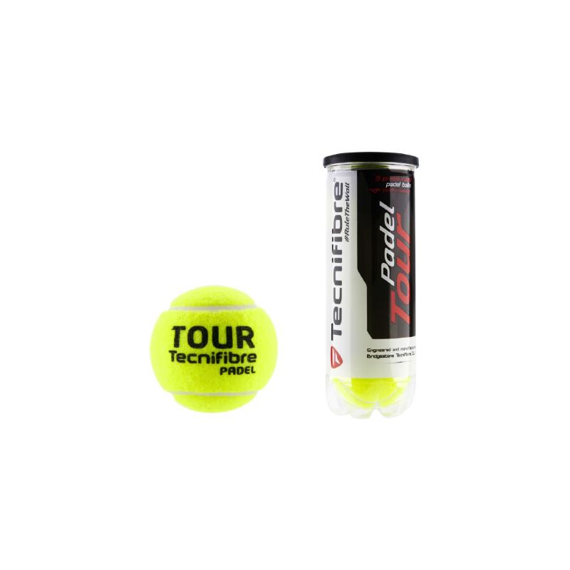 Tecnifibre Padel Tour padellabda (3 db/tubus)
