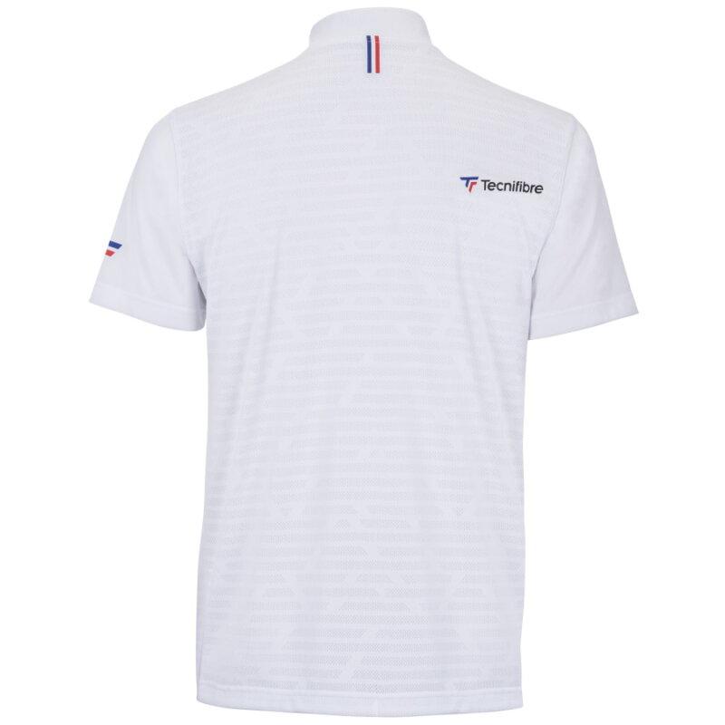 Tecnifibre F3 fehér férfi pólóing háta