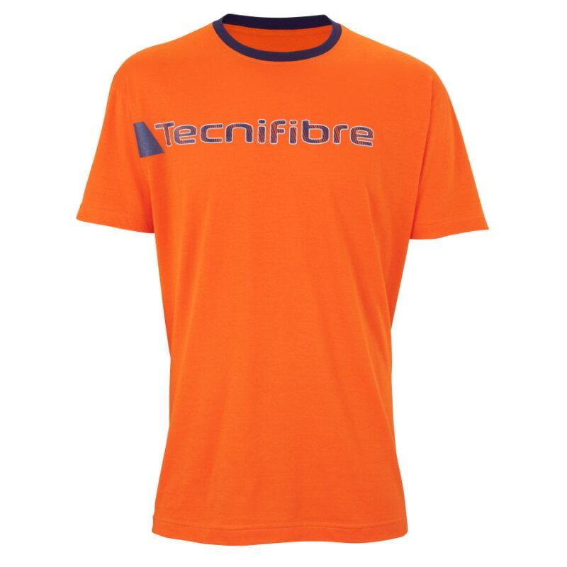 Tecnifibre Cotton Tee narancsszínű pólóing