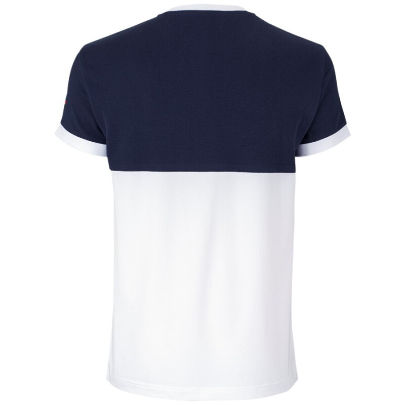 Tecnifibre F1 Stretch tengerkék férfi pólóing háta
