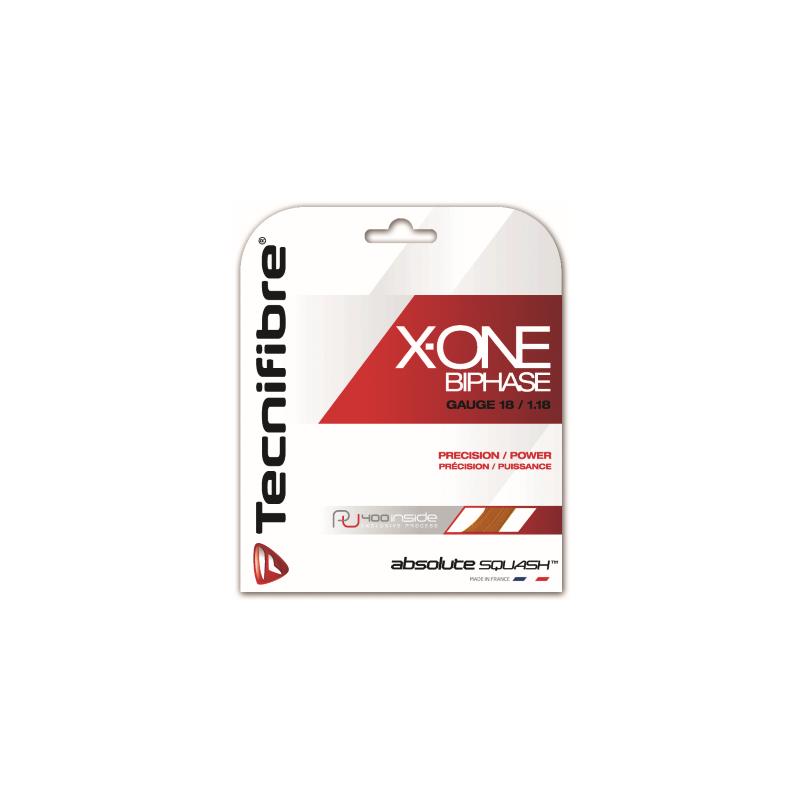Tecnifibre X-One Biphase 9,7m squash húr (narancsszínű)