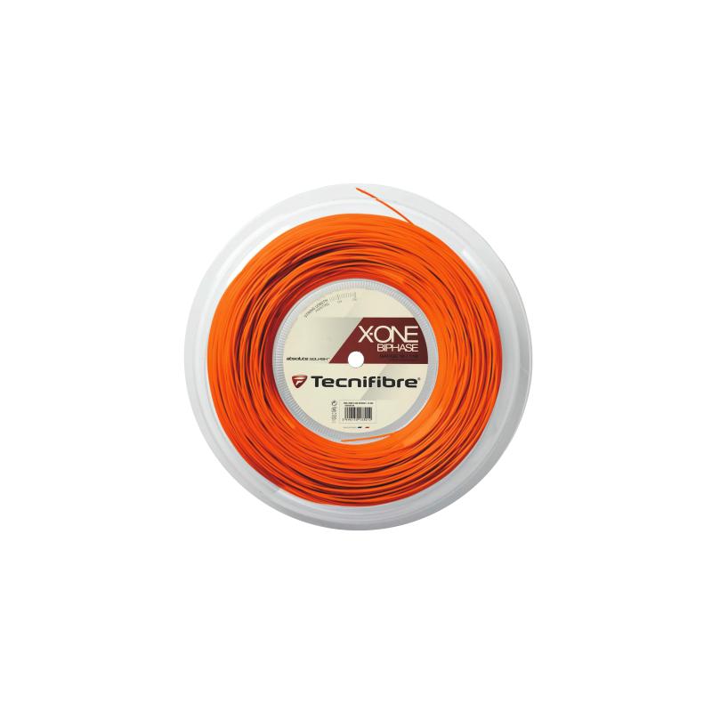 Tecnifibre X-One Biphase 200m squash húr (narancsszínű)