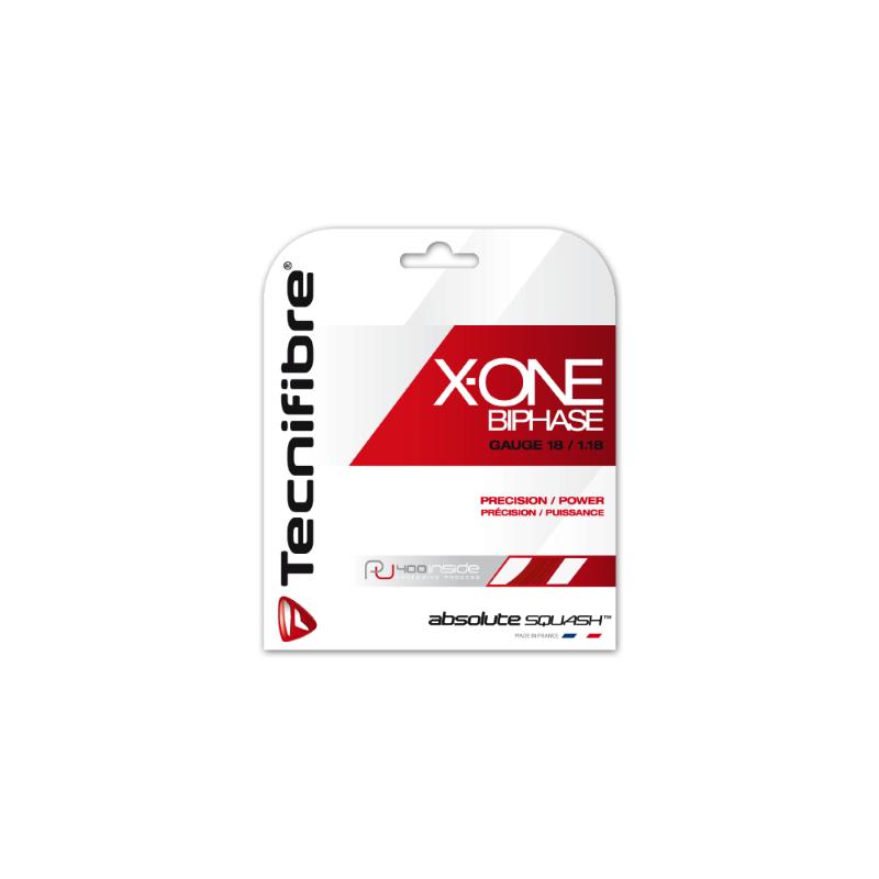 Tecnifibre X-One Biphase 9,7m squash húr (natúr színű)