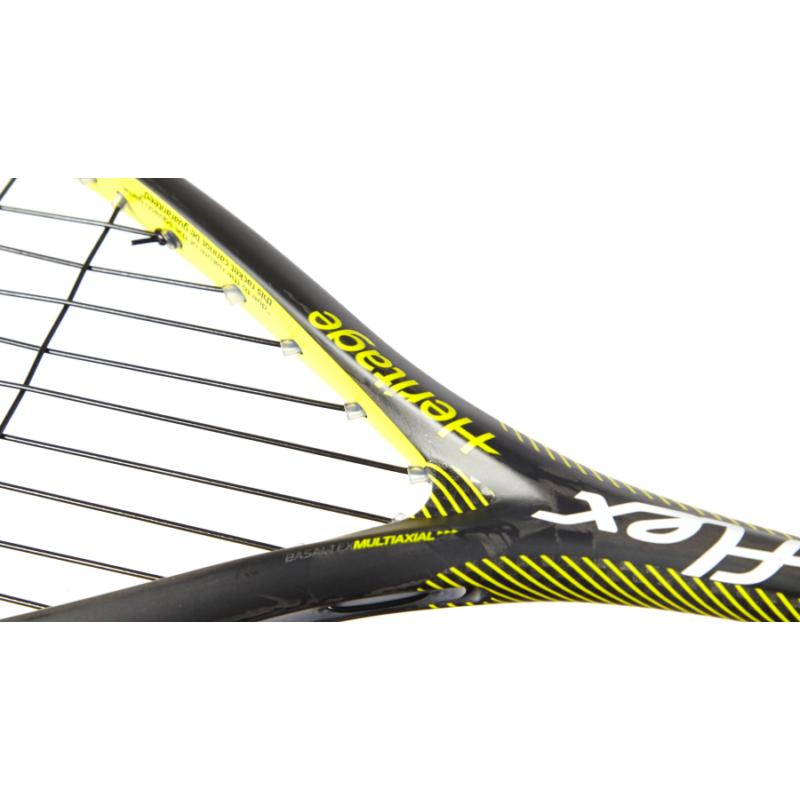 Tecnifibre Carboflex 125 Heritage squash ütő (részlet)