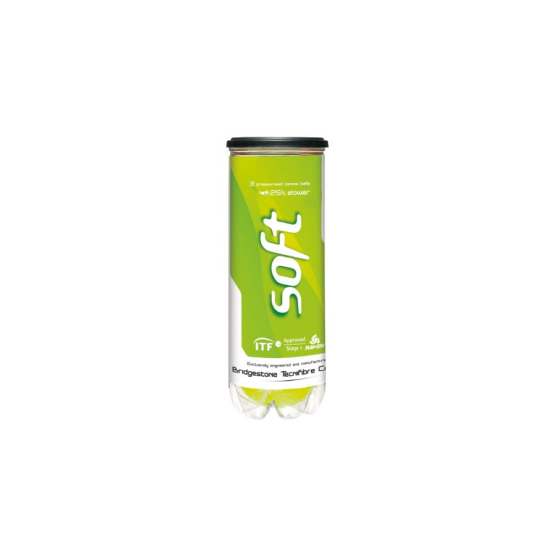Tecnifibre Soft (3 db/tubus) teniszlabda