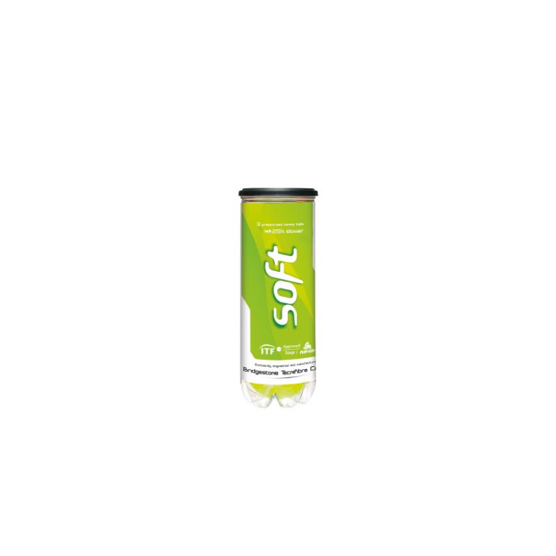 Tecnifibre Soft teniszlabda (3 db/tubus)