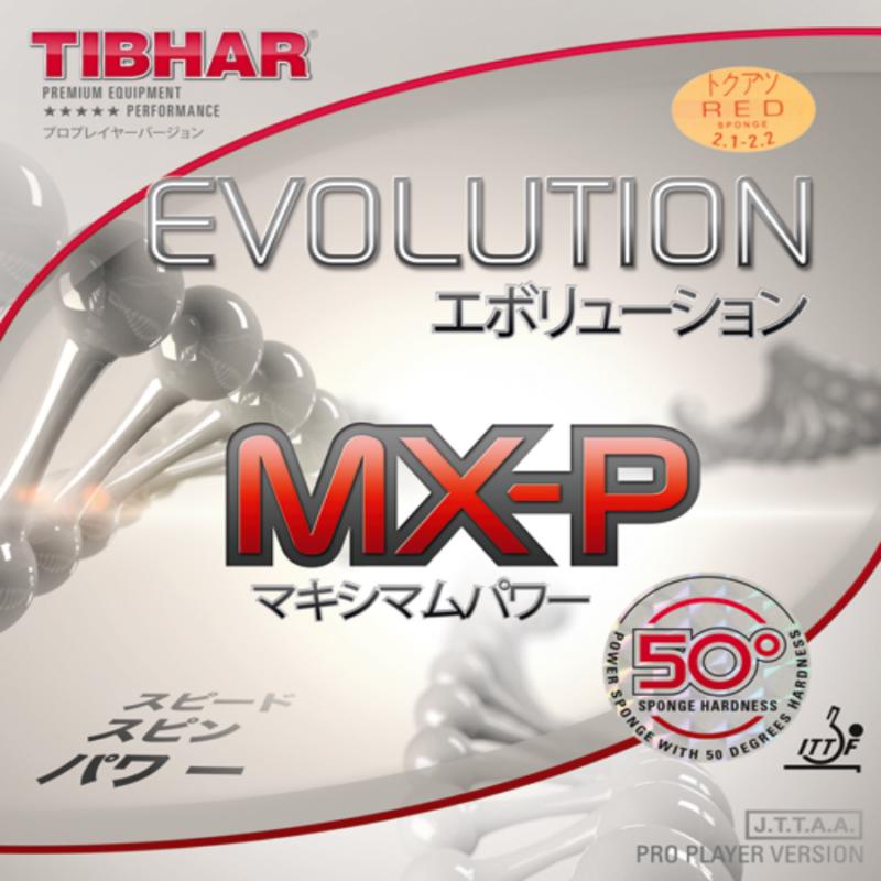 Tibhar Evolution MX-P 50 Hard Version asztalitenisz-borítás