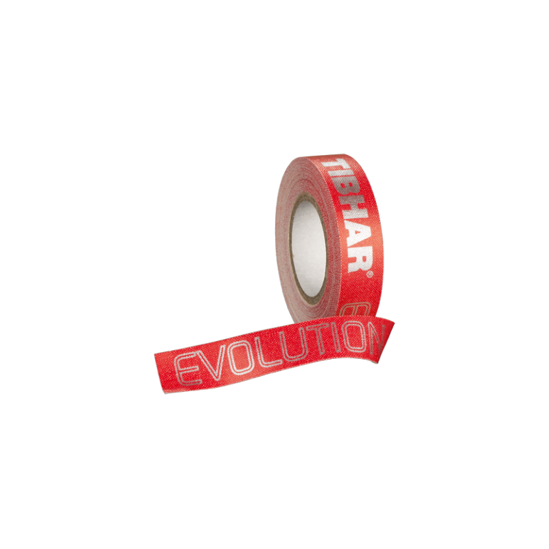 Tibhar Evolution fejvédőszalag piros színben (12 mm x 5 m)