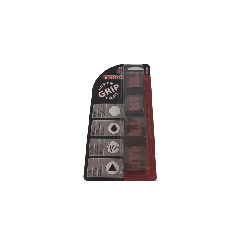 Tibhar Super Grip fekete (2 db)