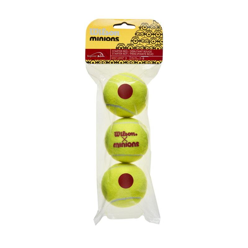 Wilson Minions Stage 3 teniszlabda (3 db/tubus)