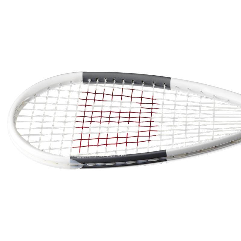 Wilson Tempest Pro fehér-metál squash ütő feje