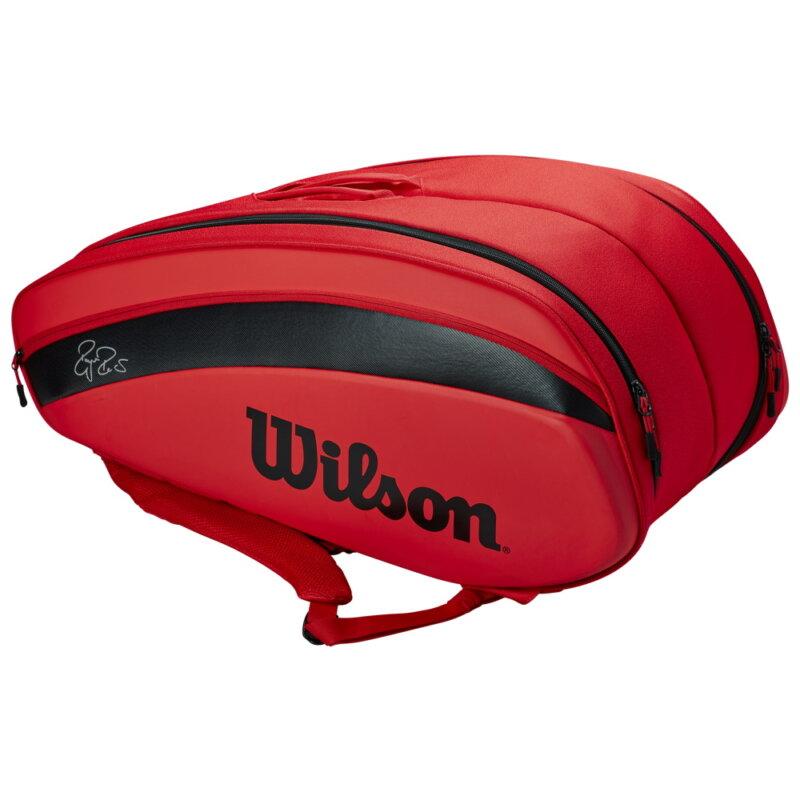 Wilson RF DNA 12 piros tenisztáska