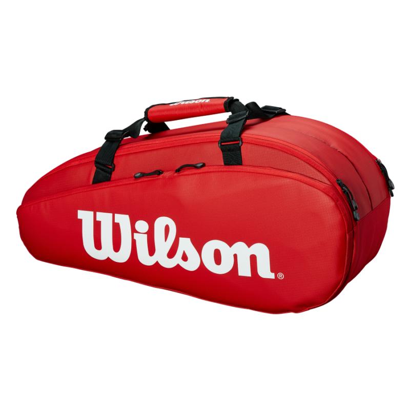 Wilson Tour 2 Comp 9PK Small piros ütőtáska