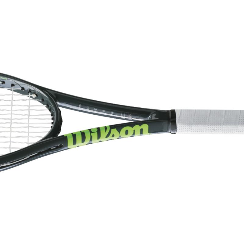 Wilson Blade Team 99 Lite teniszütő nyakának oldalnézeti képe
