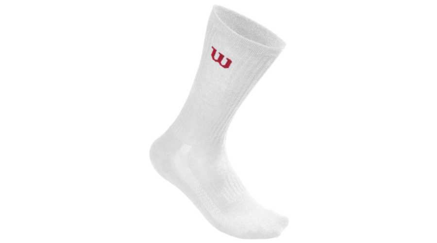 Wilson Crew - 3 pár hosszú szárú zokni (fehér) 7c9a0397e7