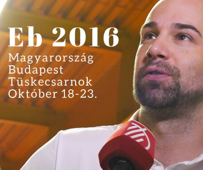 Asztalitenisz Európa Bajnokság 2016 Budapest - Tüskecsarnok