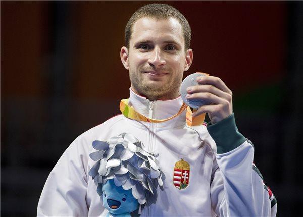 Paralimpia 2016 - Csonka András asztaliteniszező ezüstérmes