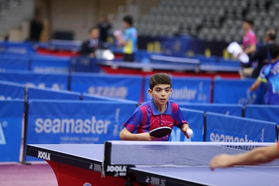 A torna egyik legfiatalabb résztvevője: Hamed Anwar